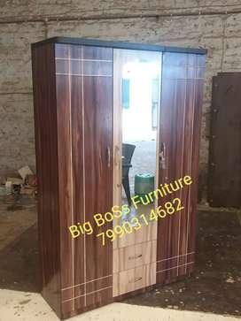 Brand New Line Design 2+1 Door Wardrobe