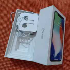 iPhone x 64GB silver colour