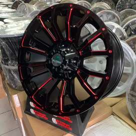 Velg 18 LIMITED GROX 6Lubang Pajero Fortuner Hilux Triton Ford dll