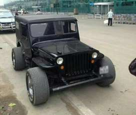 Black willys jeep for sale