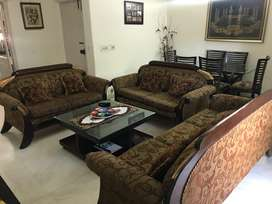 7 seater Sofa + 6 dining table+ center table+dressing Table+others