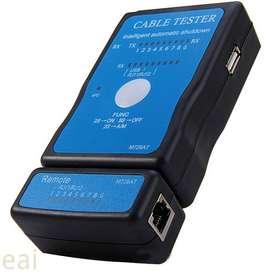Jaringan Kabel Ethernet Lan Multifungsi Rj45 Rj-11 USB Printer Tester