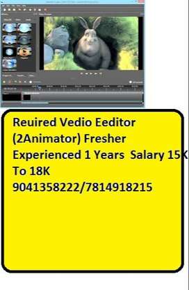 Leading Reputed Company Hiring  2D Animator (Artist) Candidates must h