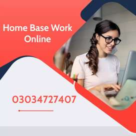 #Online work at home