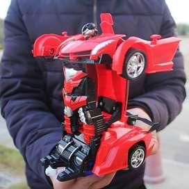 Mobil Remote Jadi Robot - RC Car Robot 2in1 Transformation Skala 1:18