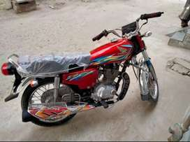 Honda 125 bike for sale with complete documents
