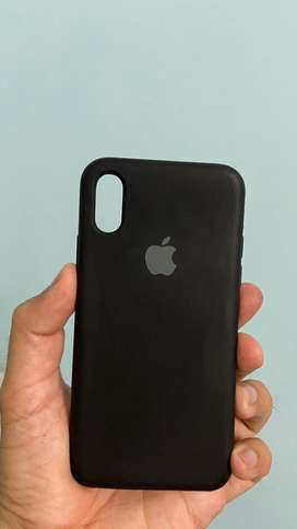 Iphone X back Silicon cover (Imported) (Free Delivery)