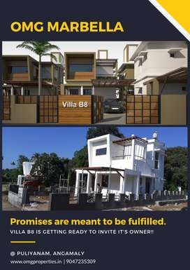 Flood-free area| 3BHK villas | Puliyanam Angamaly