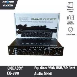 Preamp Parametric Equalizer Embassy EQ-888
