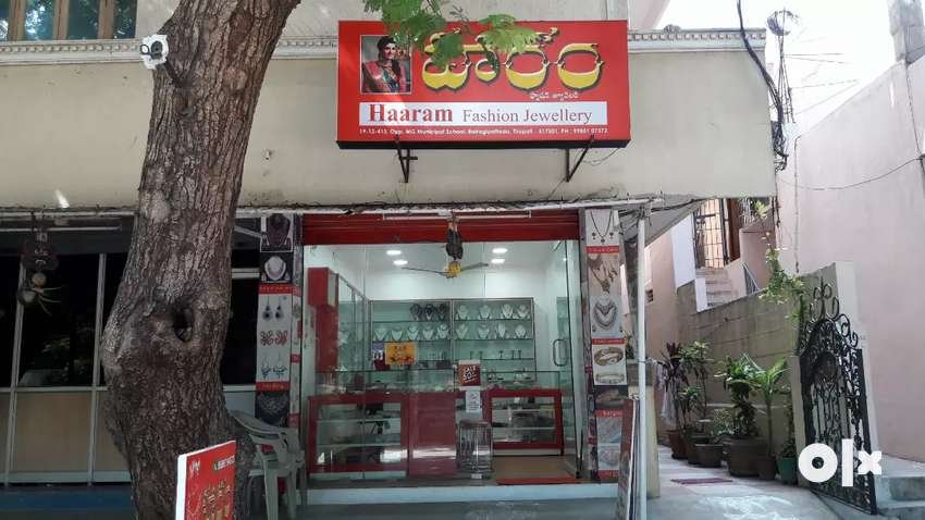 Shop ready to occupy with 1gram gold jewellery, bangles, necklaces etc 0