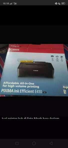 Printer canon Mash baru