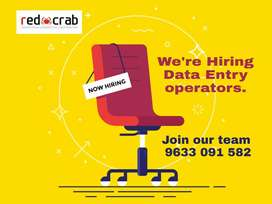 Need Female staff for data entry works