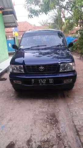 Toyota Kijang kapsul LX th 2001 Rp 53.000.000 Nepis