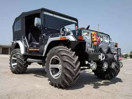 Open Modified Hunter Jeep Ready for Delivery from Punjab