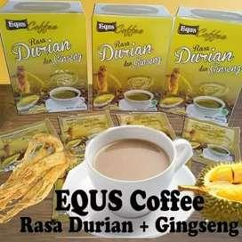 Equs kopi rasa durian dan gingseng