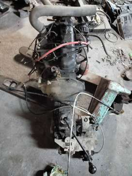 Mahindra DI engine, 2001make with kmt 90 4x4 gearbox for sale