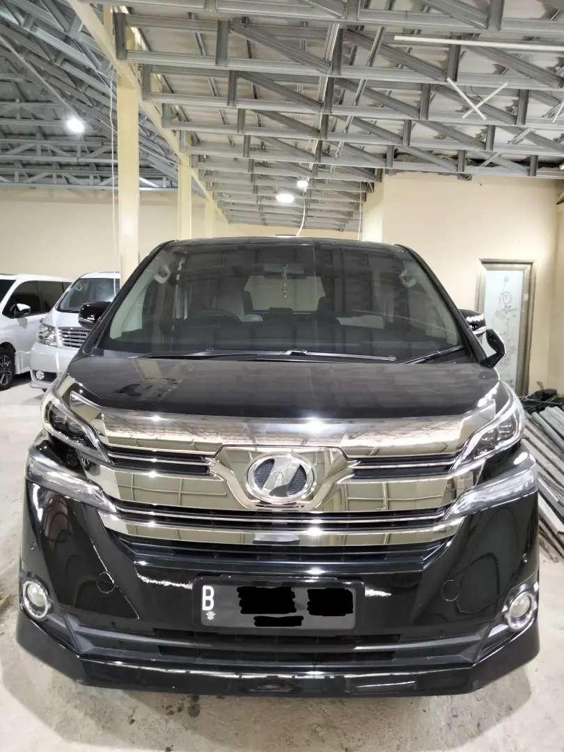 2.5 X CBU Jepang NIK 2016 Tahun 2016 All New Toyota Vellfire