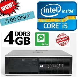 i5 HP PC/4GB RAM/500GB HDD/WARRANTY ALSO/ NOW IN PATIALA/CALL NOW