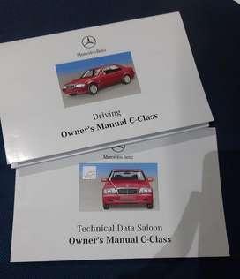 Book Manual Repro Ori Mercedes Benz W202 C180/240/SW 1998/2000