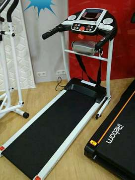 Treadmill elektric seri venice m8 2 in 1 ready