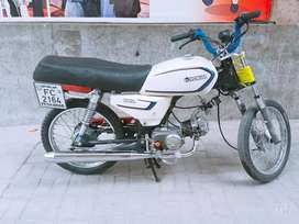 Hero bike 2010 model 10 by 10 modified