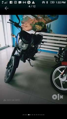 New bs6 ct 100 for urgent sale both kick and self start