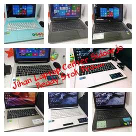 STOK Laptop |Asus | HP | Sony Vaio | Lenovo | Toshiba | Dell | Fujitsu