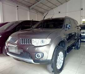 Pajero Exceed At 2012 Coklat