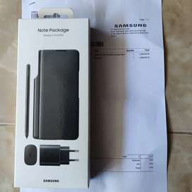 Note package samsung z fold 3 cover s pen ori