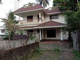 Aluva, carmel hospital, 3-bhk, single house for rent.