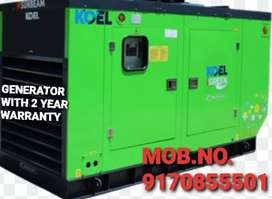 SILENT GENERATOR WITH LOW FUEL CONSUMPTION N 2 YEAR WARRANTY N SERVICE