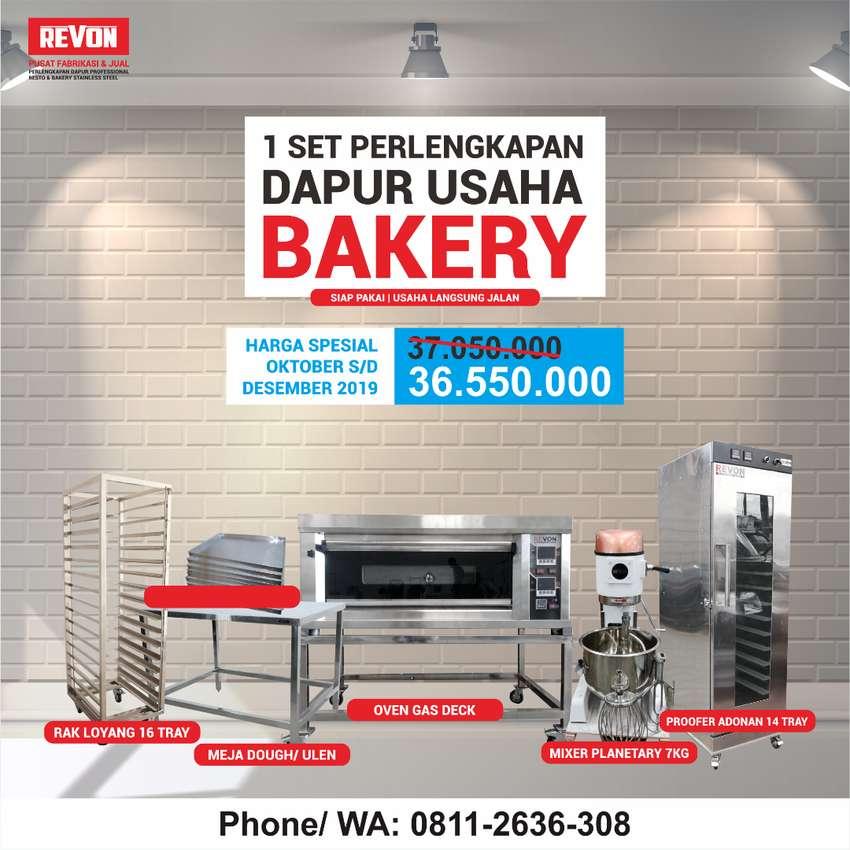 PROMO !! Paket Super Lengkap Untuk Usaha Bakery 0