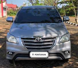 TOYOTA INNOVA E MATIC / AT TH 2015 SILVER METALIK