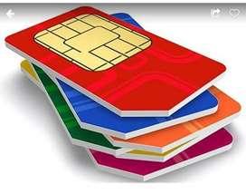 Sim cards vip Numbers