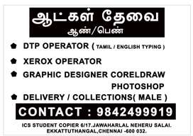 Wanted Dtp operator