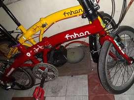 Sepeda lipat ukuran 20