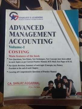 Advanced Management Accounting- I & II By CA Sanjay Aggarwal