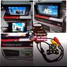 Merk good NAKAMICHI 2DIN ANDROID LINK led 7inc+camera hd grosir sby