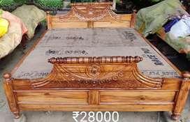 Sagwan double bad 7/6 thineer polish water proof plywood