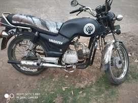 Kitnetic boss  modified bike