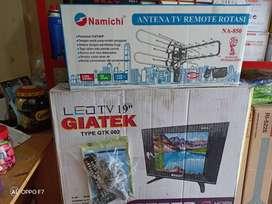 Diantar-Promo TV led giatex GTK 002 19inc + Antena remote namichi