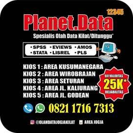 Analisis Olah Data SPSS Skripsi KTI TA Tesis Kilat Ditunggu Tangerang