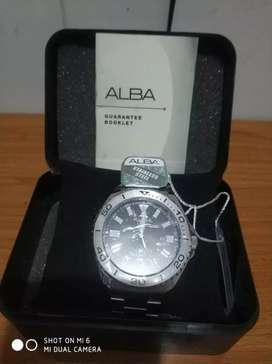 Jam Tangan ALBA Model Seiko Diver, diameter 45 mm, perfect condition