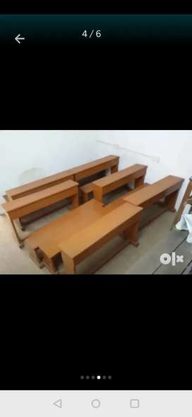 10,000 RS, Wooden benches for class