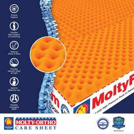 Molty Ortho Mattress for BACK PAIN