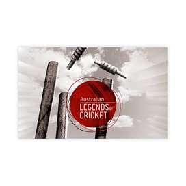 Australian Legends of Cricket Stamp Pack