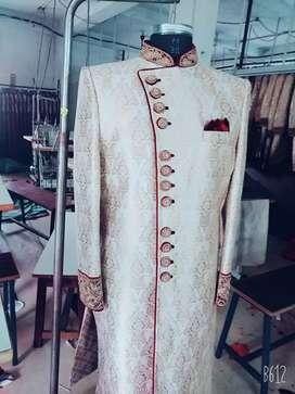 Men's cesual formal wedding  Indo Western sherwani mojdi shafa