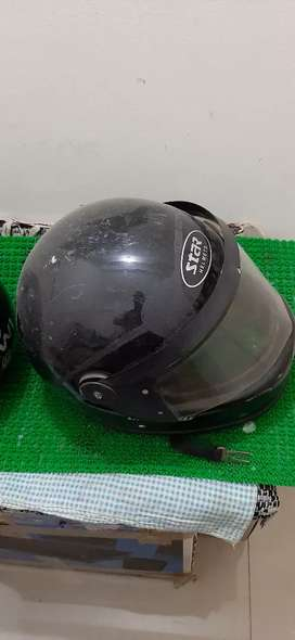Helmets for him and her