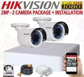 Pasang paket Kamera CCTV bisa on ke hp (Sukatani)