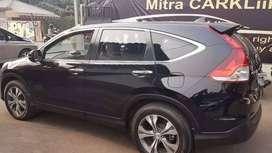 Honda CRV hitam tahun 2013 like new garansi mesin dan trasmisi 1TH